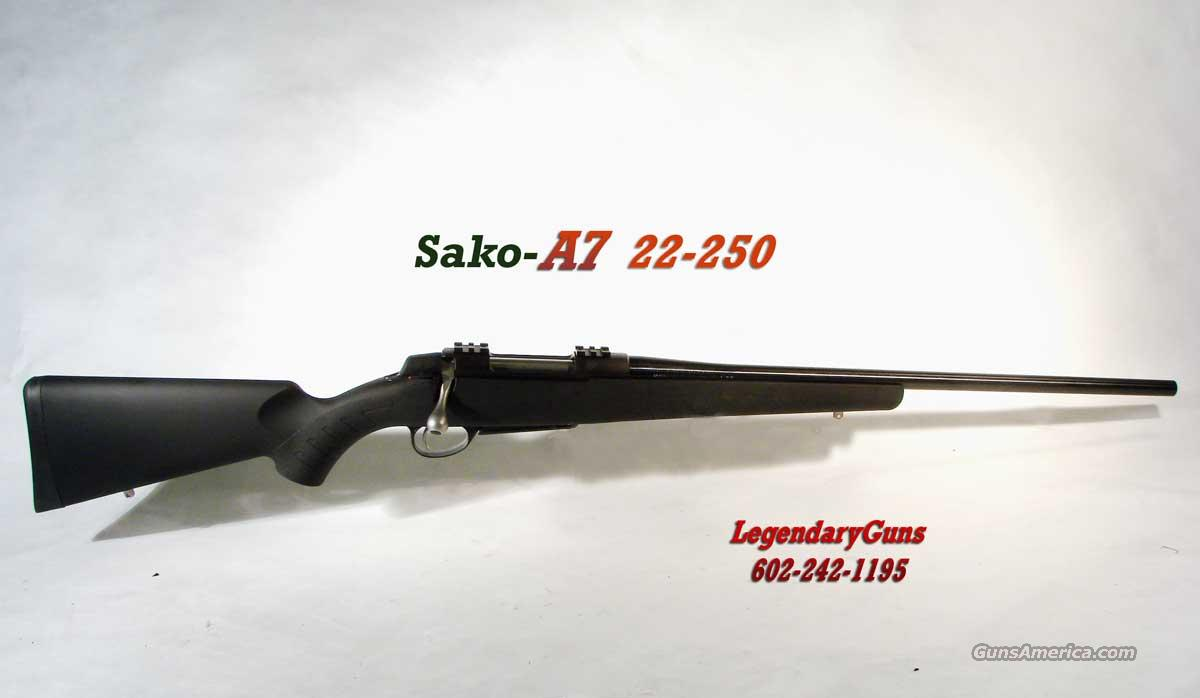 Sako A-7 Black 22-250 New in box  Guns > Rifles > Sako Rifles > A7 Series
