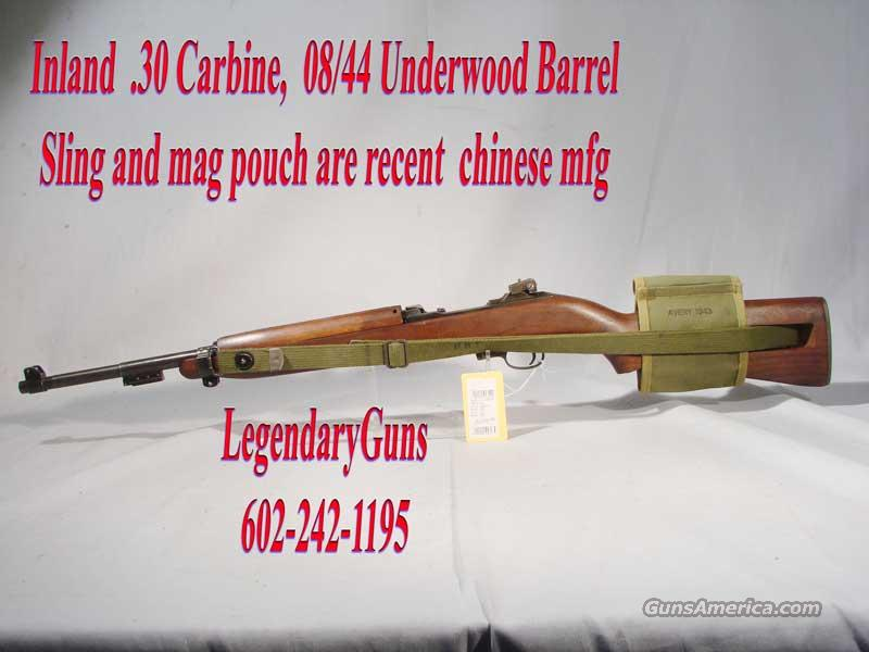 M-1 Inland Carbine .30  Guns > Rifles > Military Misc. Rifles US > M1 Carbine