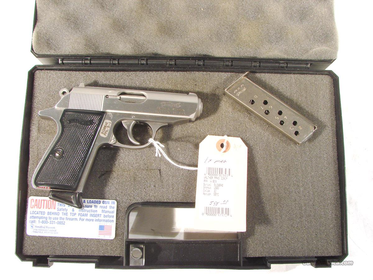 Walther PPKs, .32acp Stainless  Guns > Pistols > Walther Pistols > Post WWII > PPK Series