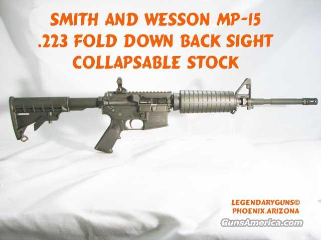 S&W M&P 15A  Flat top Carbine  Guns > Rifles > Smith & Wesson Rifles > M&P