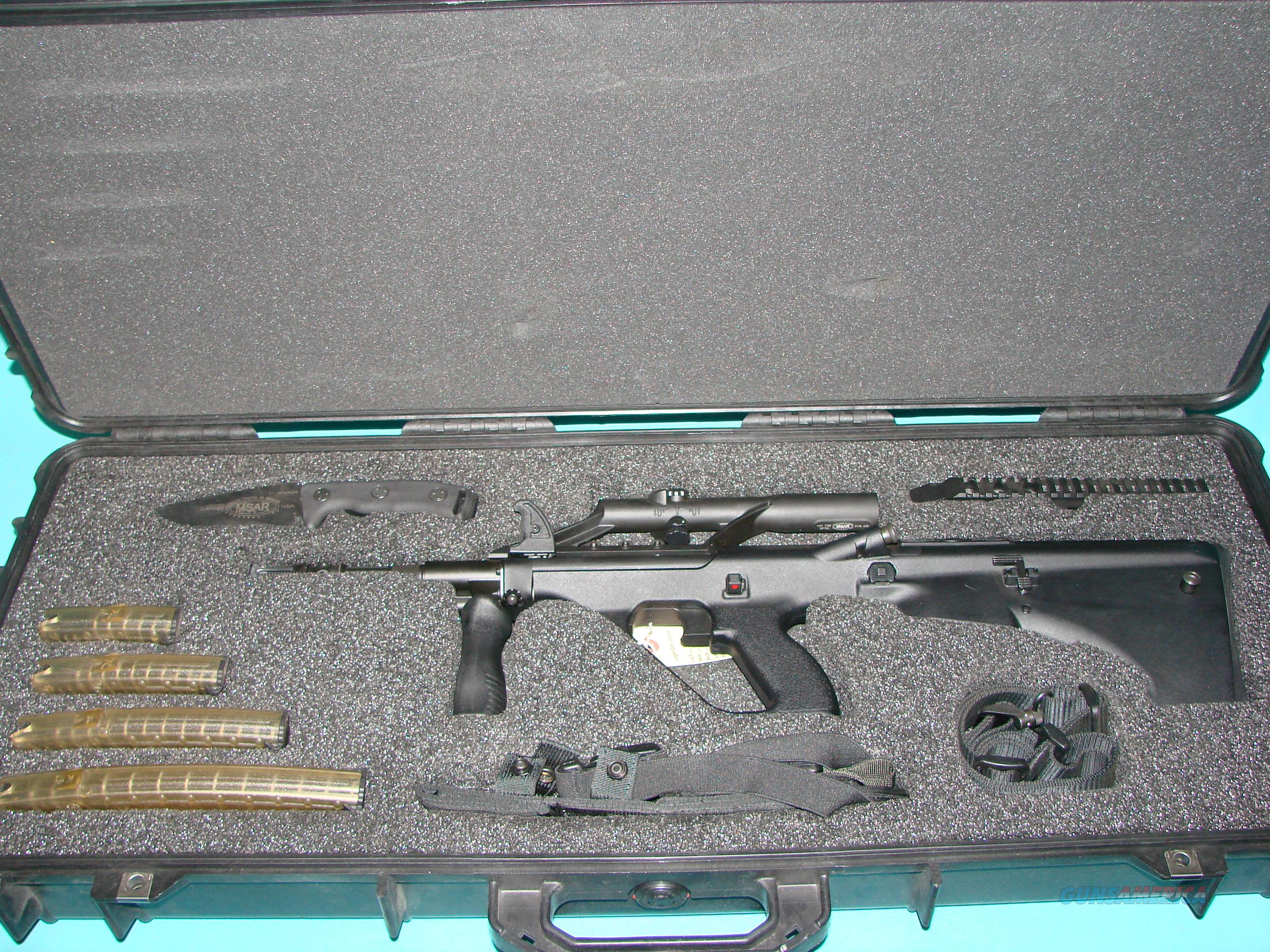 MSAR STG556 Presentation Set  Guns > Rifles > MN Misc Rifles