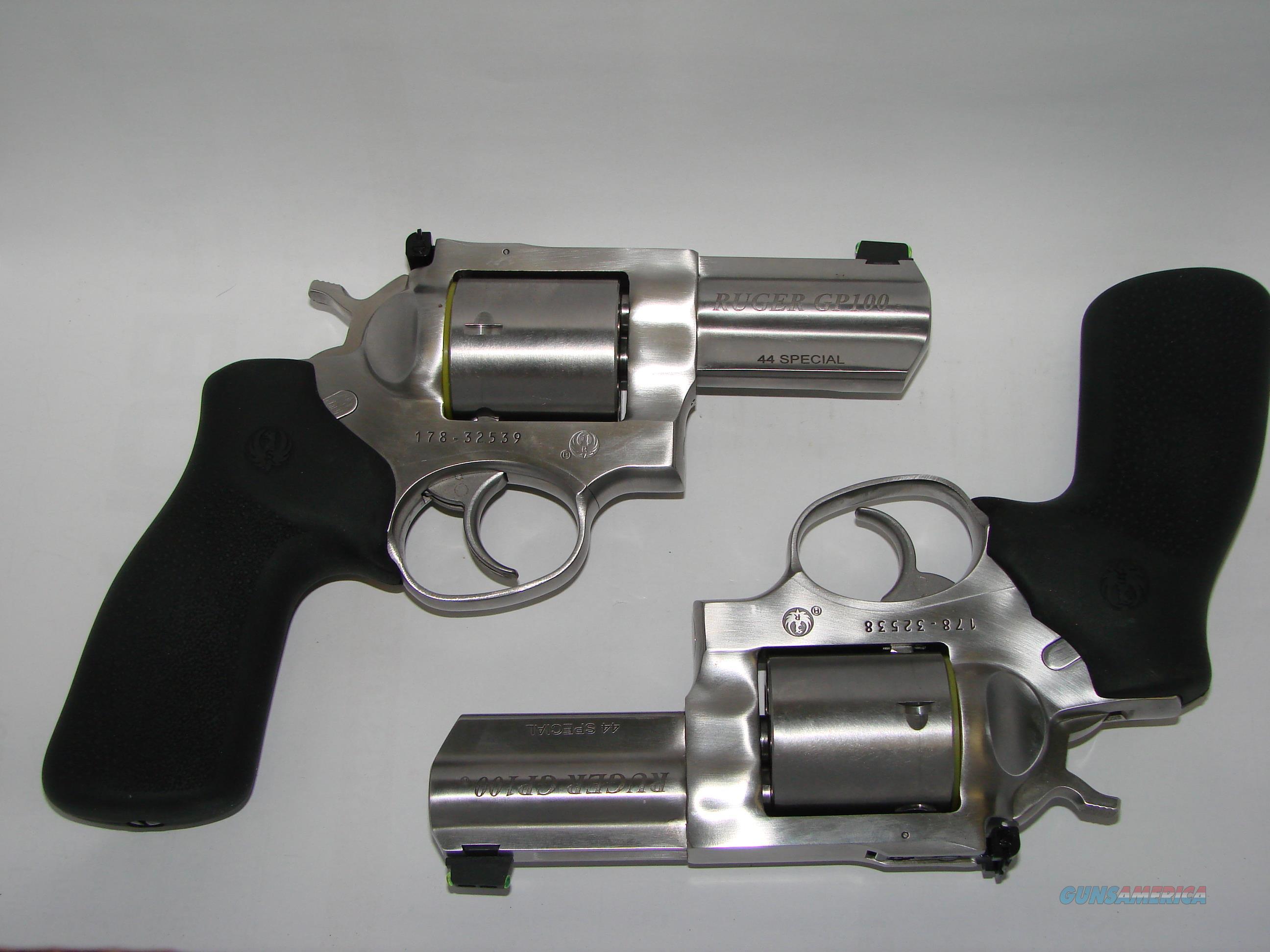 Ruger GP100 44SPL Consecutive Set  Guns > Pistols > Ruger Double Action Revolver > GP100