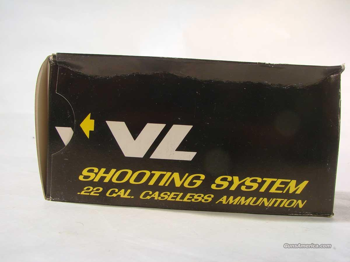 Daisy VL Caseless Amunition  Non-Guns > Ammunition