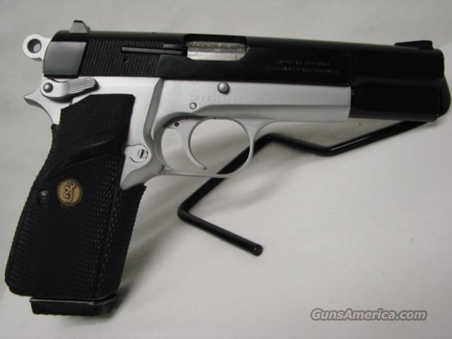 Browning High Power Mark III Pratical Two-Tone   Guns > Pistols > Browning Pistols > Hi Power