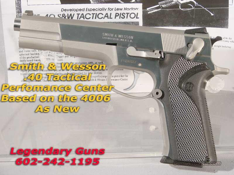 S&W Perfomance Used,40 S&W   Guns > Pistols > Smith & Wesson Pistols - Autos > Steel Frame