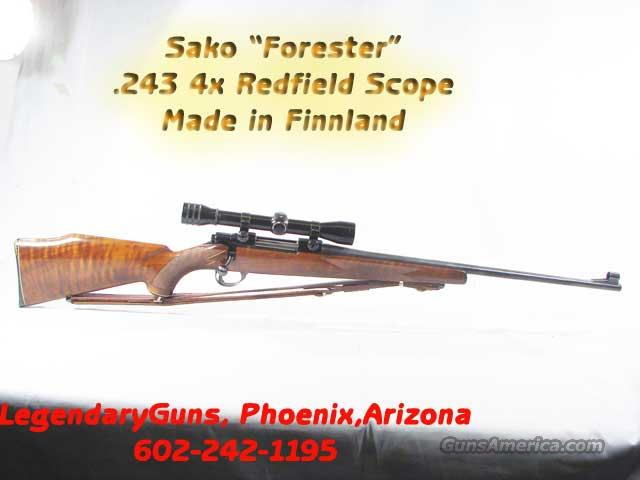 Sako Forester , .243 With 4x Scope  Guns > Rifles > Sako Rifles