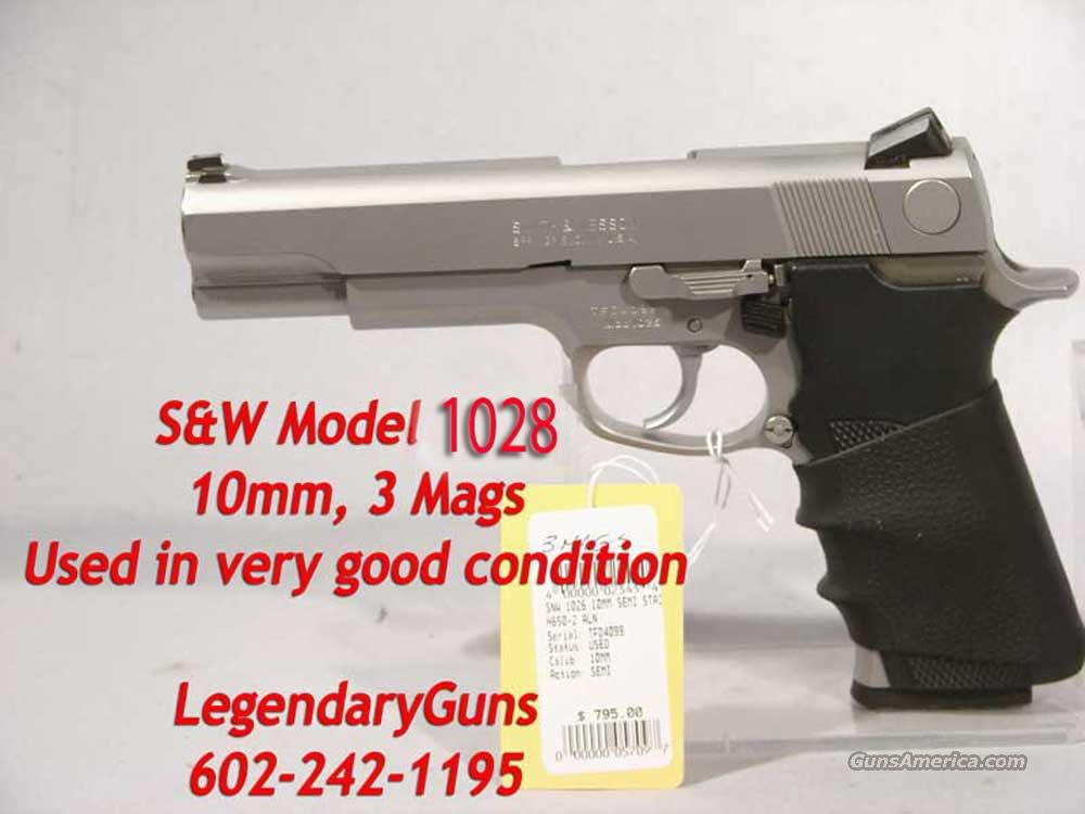 "S&W Model 1028 ""10MM"" 3 Mags  Guns > Pistols > Smith & Wesson Pistols - Autos > Steel Frame"