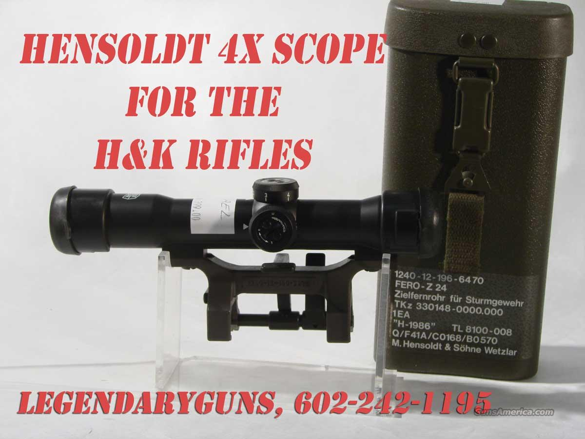 Hensoldt 4x Scope built for the H&K Battle rifles  Non-Guns > Scopes/Mounts/Rings & Optics > Mounts > Tactical Rail Mounted