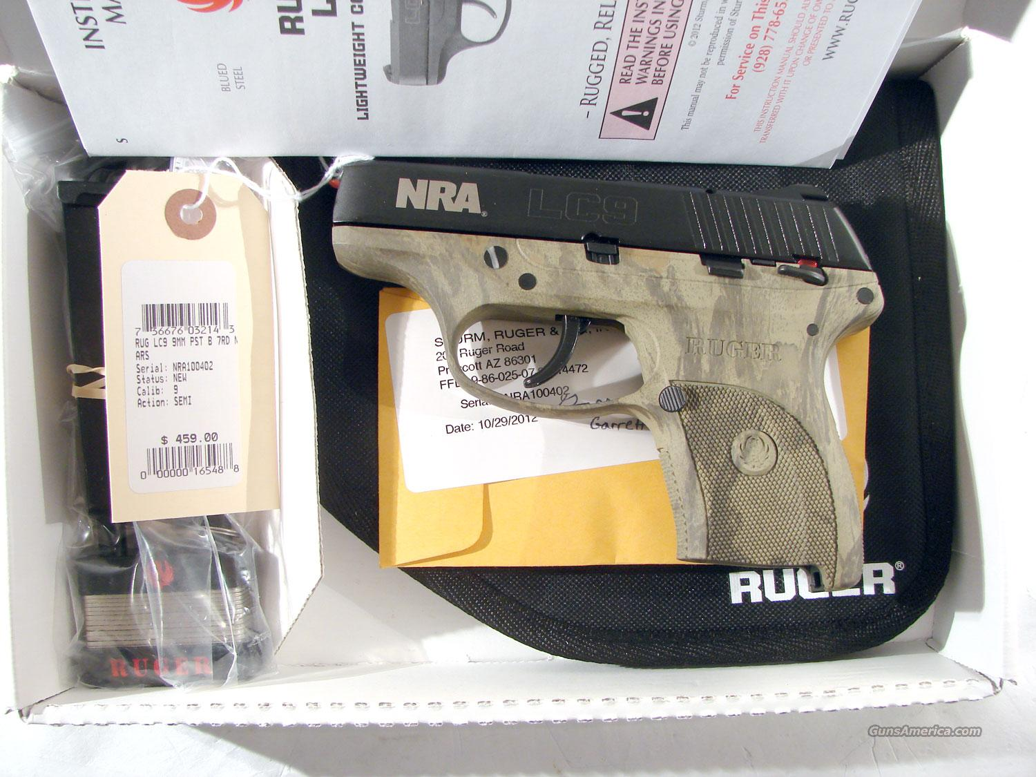 Ruger LC9 Single stack 9MM  NRA  Special Edition  Guns > Pistols > Ruger Semi-Auto Pistols > LC9