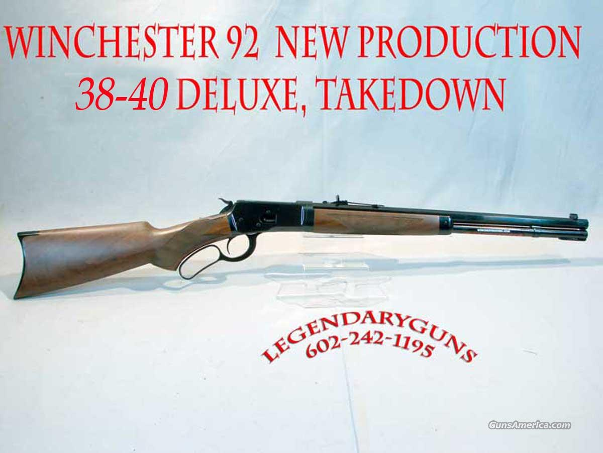 Winchester 1892 DLX  38/40 New in the box  Guns > Rifles > Winchester Rifles - Modern Lever > Other Lever > Post-64