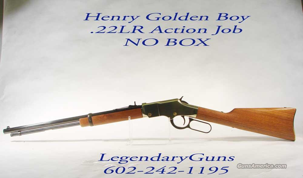 Henry Golden boy Lever Action .22LR   Guns > Rifles > Henry Rifle Company