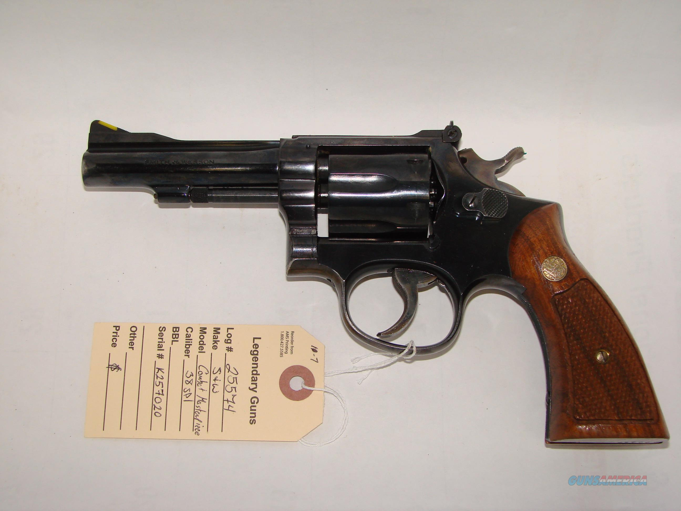 Smith & Wesson Combat Masterpiece  Guns > Pistols > Smith & Wesson Revolvers > Full Frame Revolver