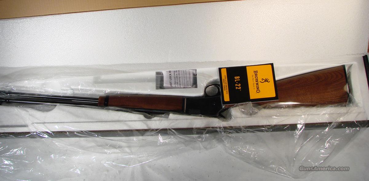 BROWNING LEVER ACTION BL-22  Guns > Rifles > Browning Rifles > Lever Action