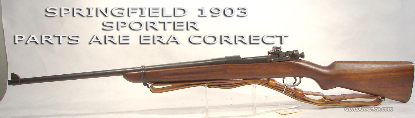 Springfield Model 1903 Sporter Period correct parts,  Guns > Rifles > Military Misc. Rifles US > 1903 Springfield/Variants