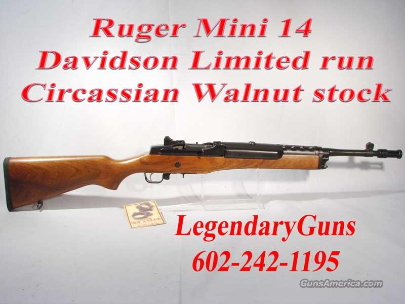 Ruger Mini-14 .223  Deluxe LTD Circussian Walnut wood,  Guns > Rifles > Ruger Rifles > Mini-14 Type