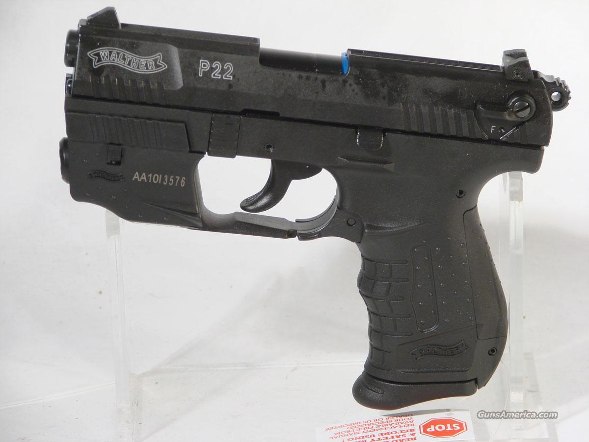 Walther P22, .22LR with Laser Package  Guns > Pistols > Walther Pistols > Post WWII > PP Series