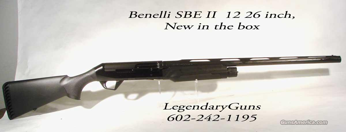 Benelli Super Black Eagle II 26 Inch Black   Guns > Shotguns > Benelli Shotguns > Sporting