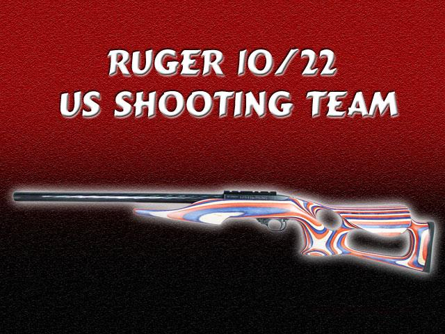 Ruger US Shooting Team 10/22  As new in box  Guns > Rifles > Ruger Rifles > 10-22