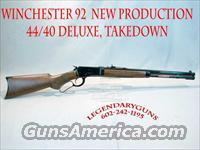 Winchester Model 1892 DLX, 44-40, Take down,  Guns > Rifles > Winchester Rifles - Modern Lever > Other Lever > Post-64
