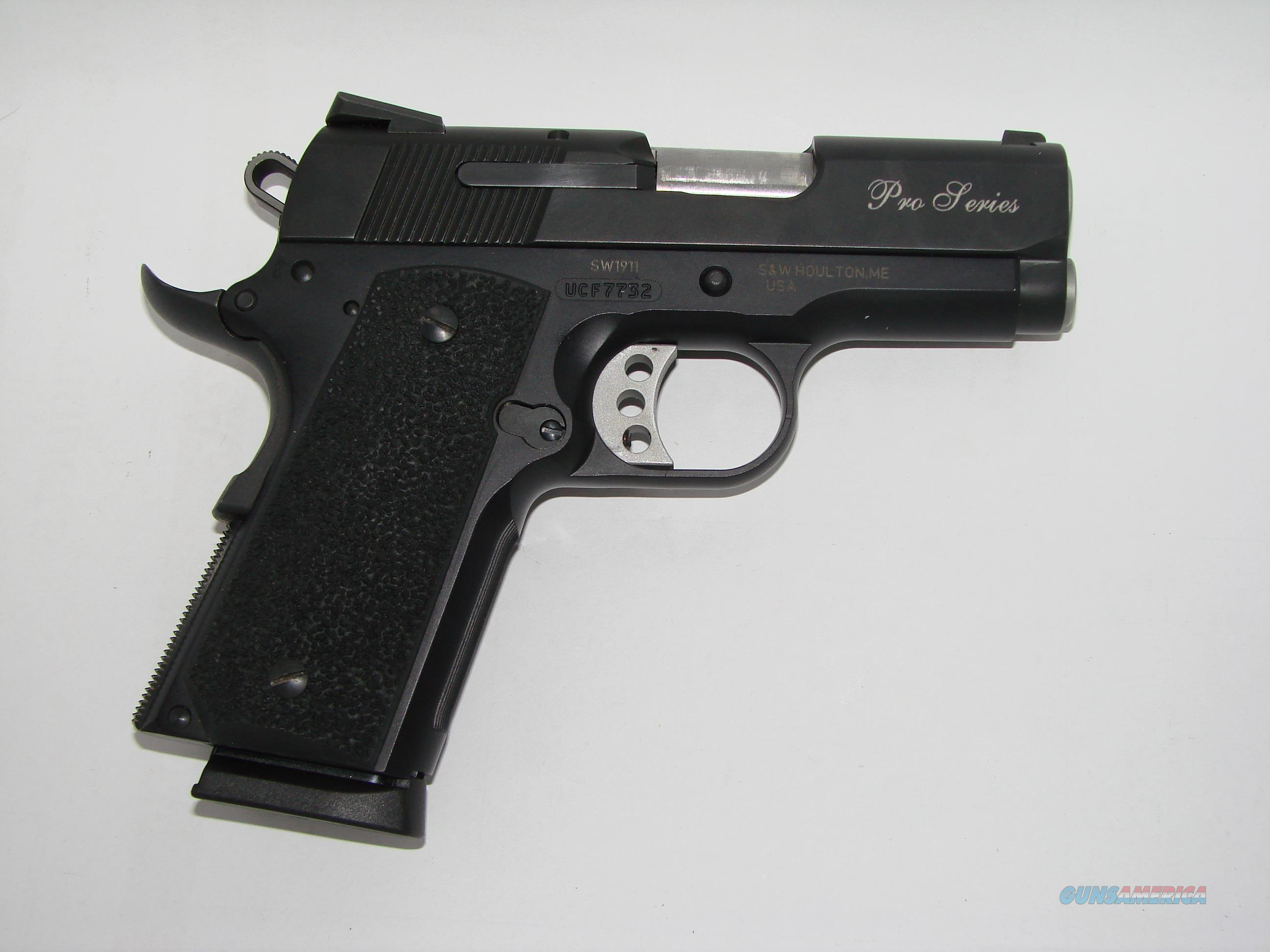 S&W 1911 Pro Sub Compact  Guns > Pistols > Smith & Wesson Pistols - Autos > Steel Frame