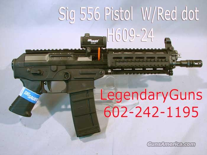 Sig 556 Pistol with red dot, .223   Guns > Pistols > Sig - Sauer/Sigarms Pistols > 556