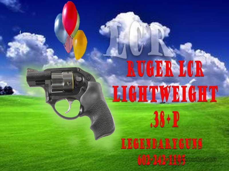 "Ruger ""LCR"" .38 Spl  Guns > Pistols > Ruger Double Action Revolver > SP101 Type"