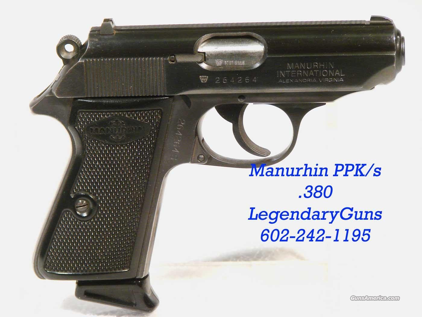 Manurhin .380 Walther built in France    Guns > Pistols > Walther Pistols > Post WWII > PP Series