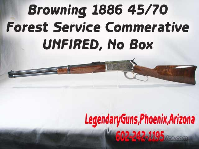 Browning 1886 Forest Service 100 years 45/70  Guns > Rifles > Browning Rifles > Lever Action