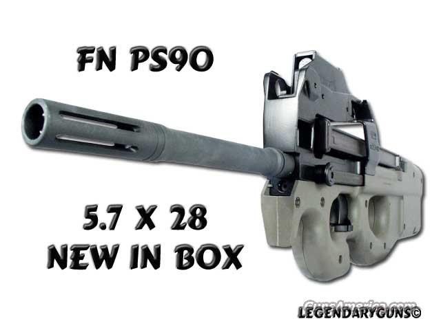 Ps90 Black  With optic sight  Guns > Rifles > FNH - Fabrique Nationale (FN) Rifles > Semi-auto > PS90
