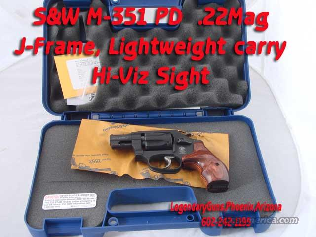 S&W M-351PD .22Mag Lightweight  Guns > Pistols > Smith & Wesson Revolvers > Pocket Pistols