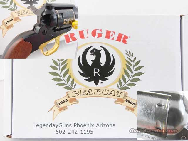 "Ruger ""BearCat"" 4 inch 50th ANNIVERSARY   Guns > Pistols > Ruger Single Action Revolvers > Single Six Type"