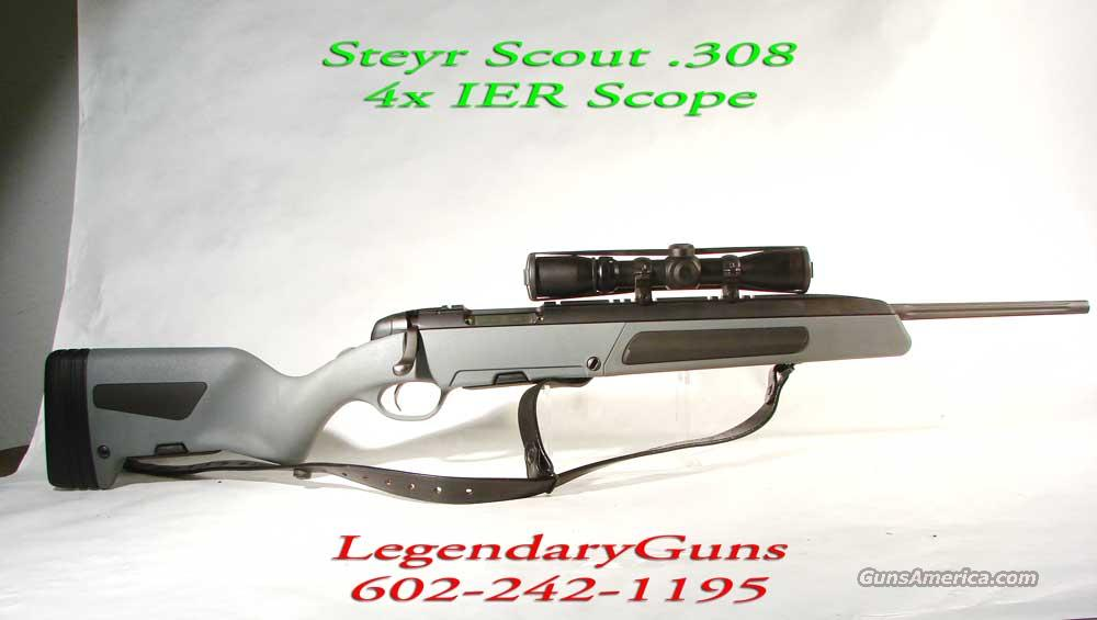 "Steyr ""Scout"" 308 with 2x7 Burris Scope   Guns > Rifles > Steyr Rifles"