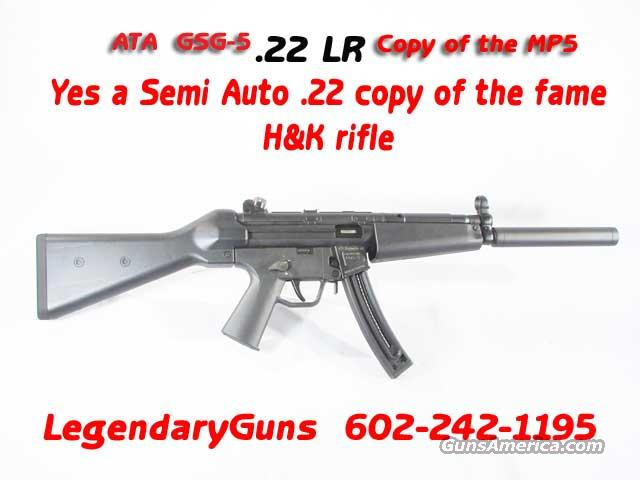 ATA Gsg5 Carbine .22LRCopy of the H&K Carbine  Guns > Rifles > Heckler & Koch Rifles > Sporting/Hunting