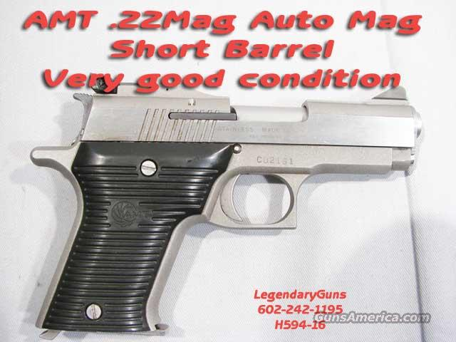 AMT AutoMag .22Mag   Guns > Pistols > AMT Pistols > Other