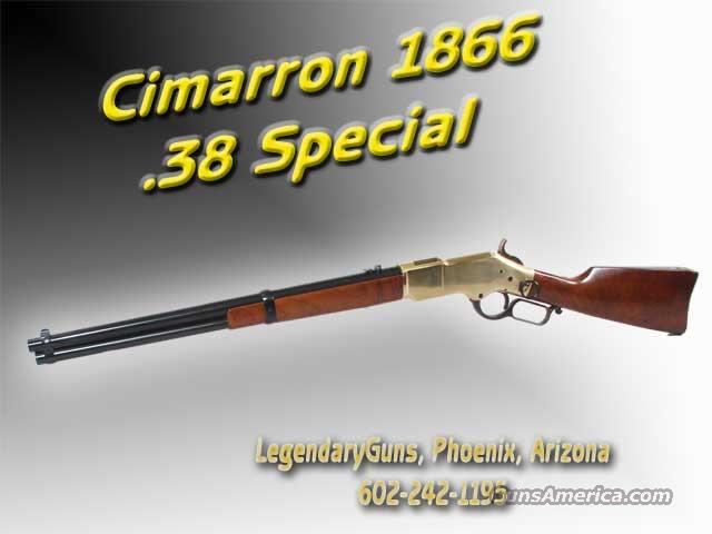 Uberti Cimarron 1866 Yellowboy ..38SPL  Guns > Rifles > Uberti Rifles > Lever Action
