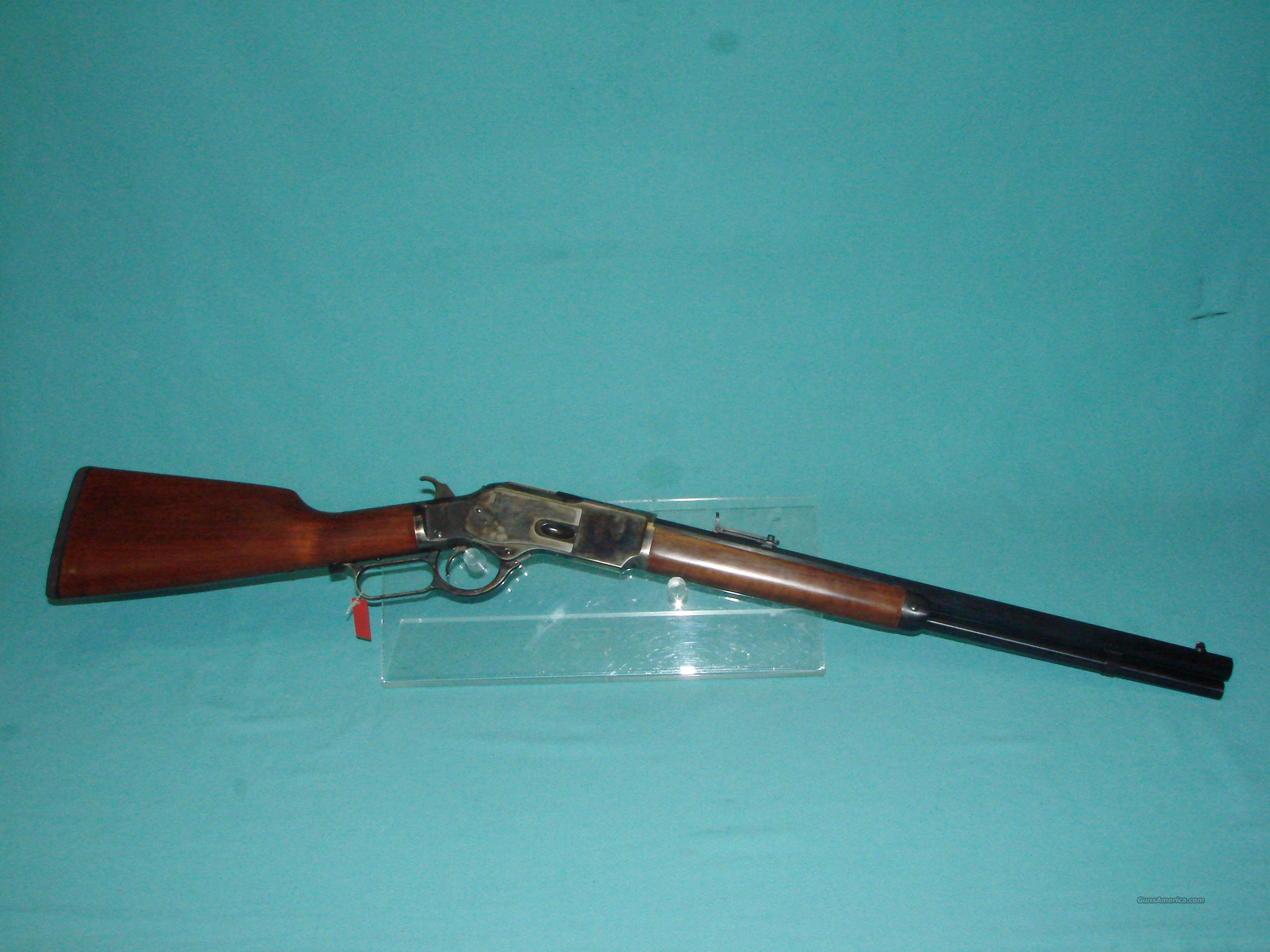 Uberti 1873 Competition Rifle w/Smith Ent Rear Sight  Guns > Rifles > Uberti Rifles > Lever Action