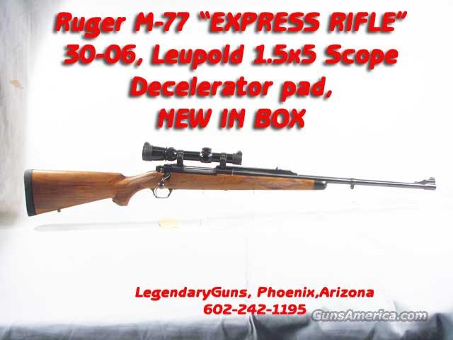 Ruger M77 Express .30-06,  W/Scope  Guns > Rifles > Ruger Rifles > Model 77