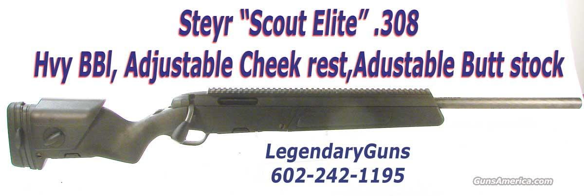 "Steyr ""Scout Elite"" .308  Black Stock  Guns > Rifles > Steyr Rifles"