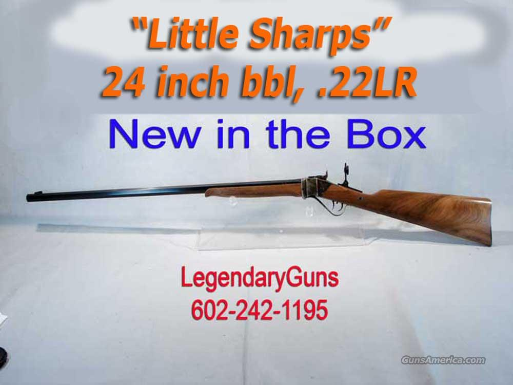 "Armi Sport ""Little Sharps"" .22LR  24 inch bbl  Guns > Rifles > Chiappa / Armi Sport Rifles > Sharps Replica"