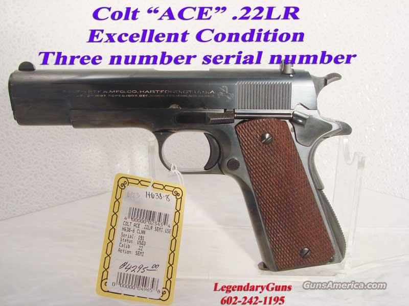 "Colt ""ACE"" .22LR Government Model  Guns > Pistols > Colt Automatic Pistols (1911 & Var)"