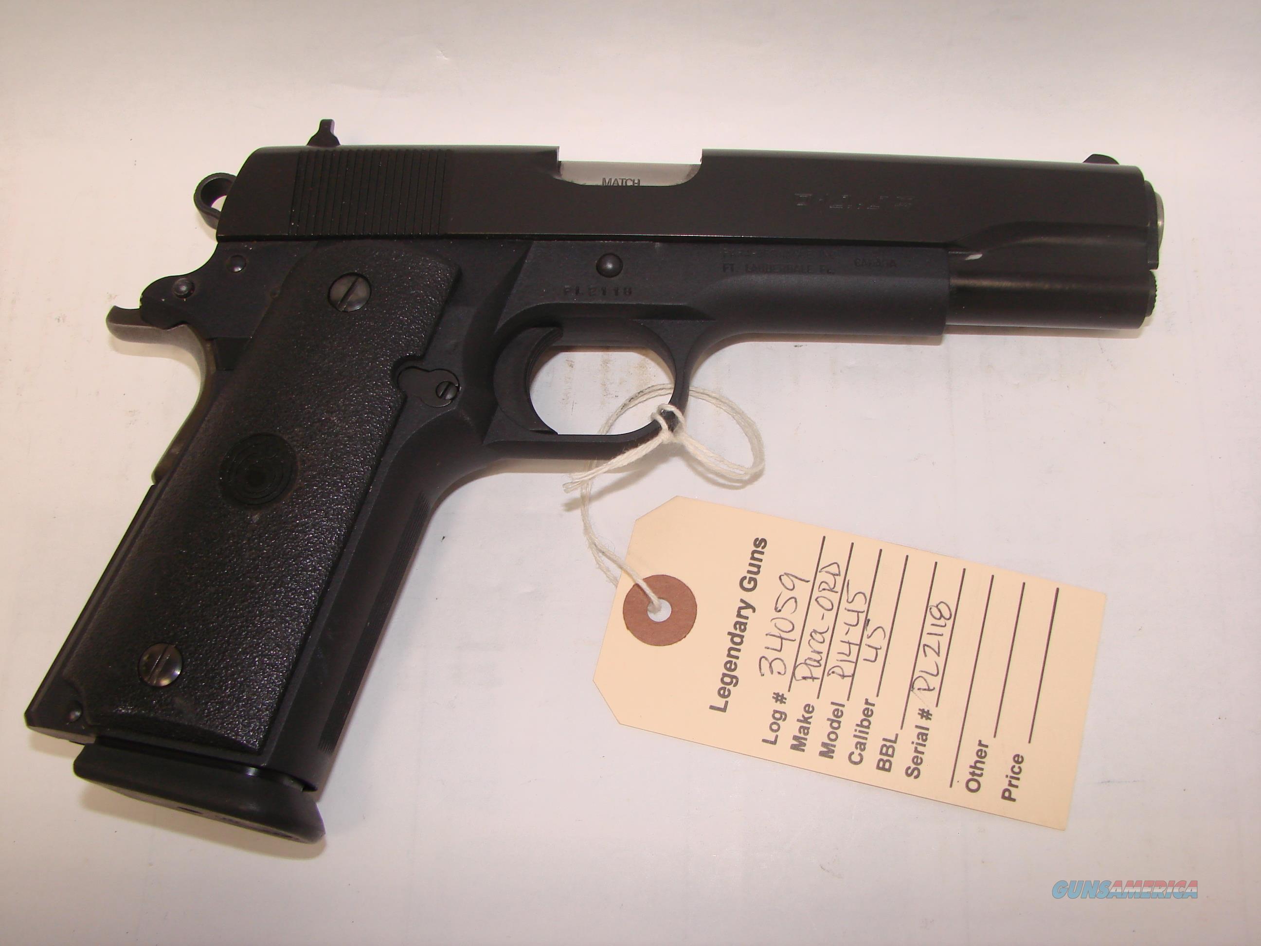 Para Ordnance P14-45  Guns > Pistols > Para Ordnance Pistols