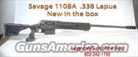 "Savage ""110B""  Bolt action,New in the box  Guns > Rifles > Savage Rifles > Other"