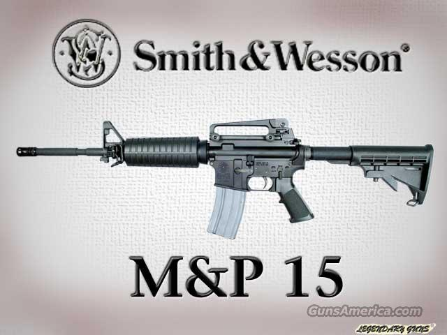 M&P 15 .223 rifle  Guns > Rifles > Smith & Wesson Rifles
