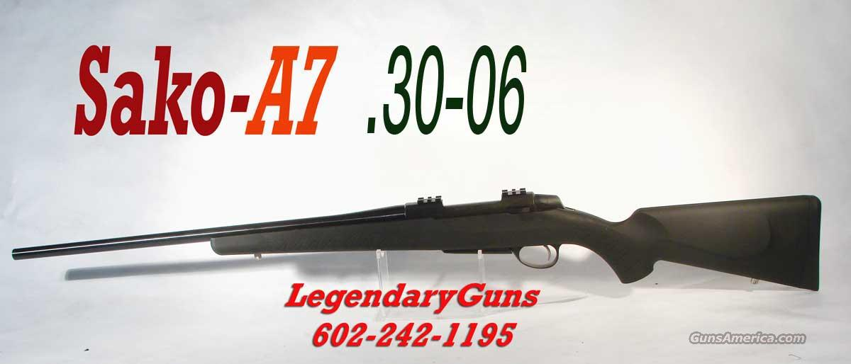 Sako A-7 Black .30-06 New in the box  Guns > Rifles > Sako Rifles > A7 Series