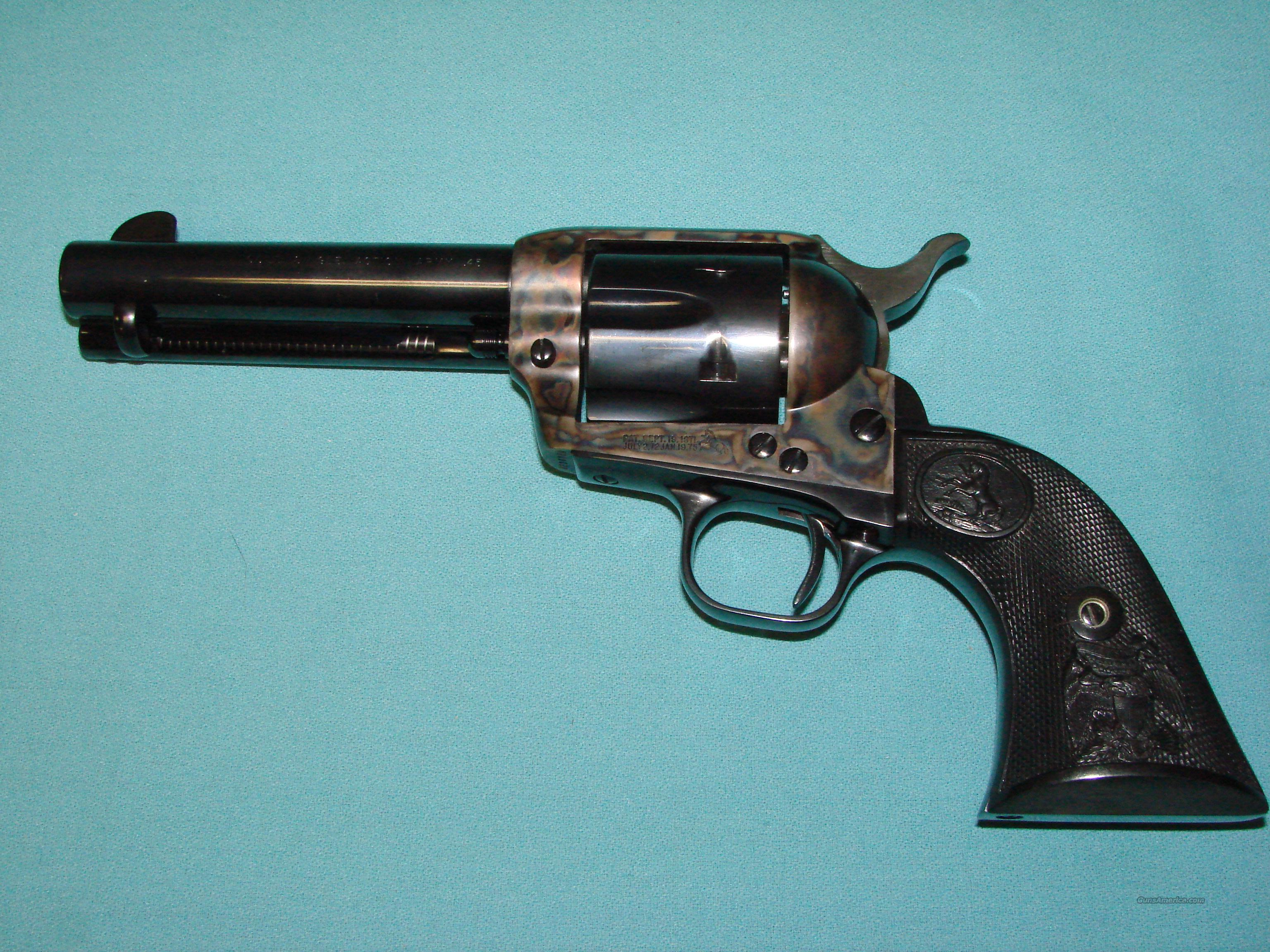 Colt SAA with Action Job  Guns > Pistols > Colt Single Action Revolvers - 3rd Gen.