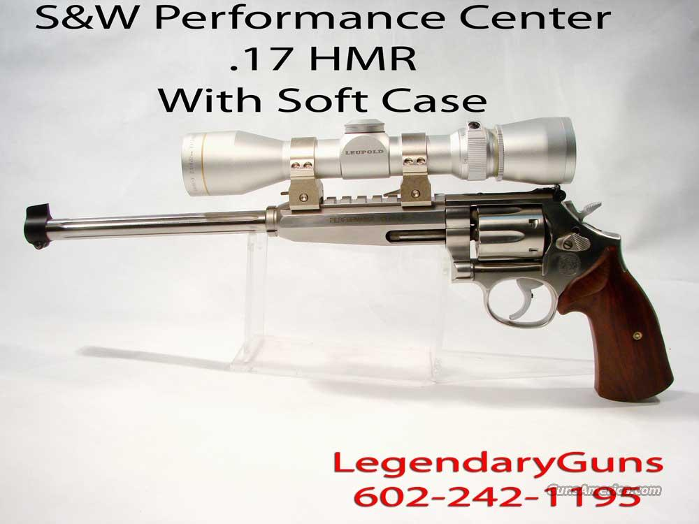 S&W Performance Center  647 .17 HMR   Guns > Pistols > Smith & Wesson Revolvers > Performance Center