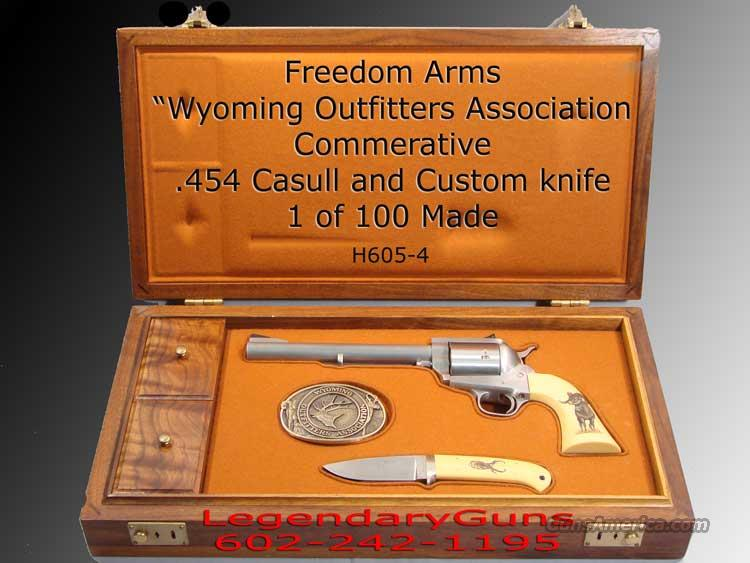 Freedom Arms Commerative Wyoming Outfitters  Guns > Pistols > Freedom Arms Pistols