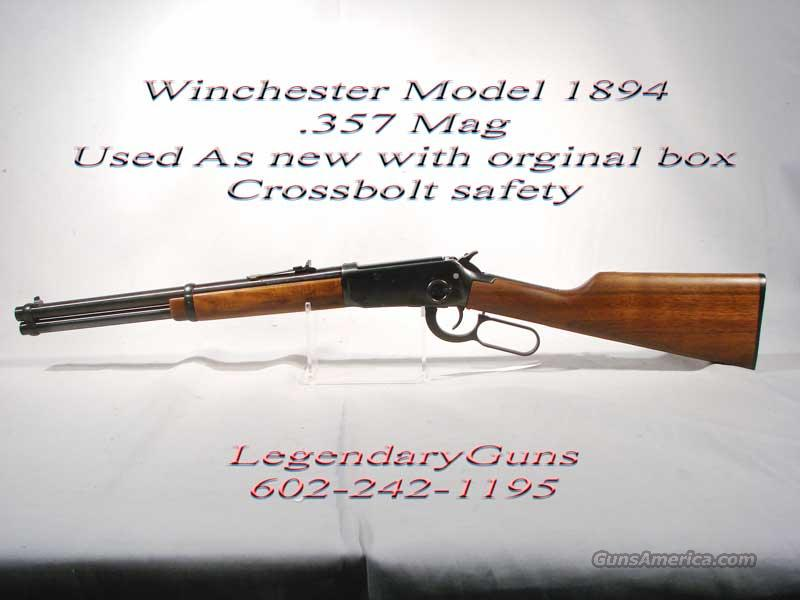 "Winchester 94 .357 Mag  ""Trapper""  Guns > Rifles > Winchester Rifles - Modern Lever > Model 94 > Post-64"