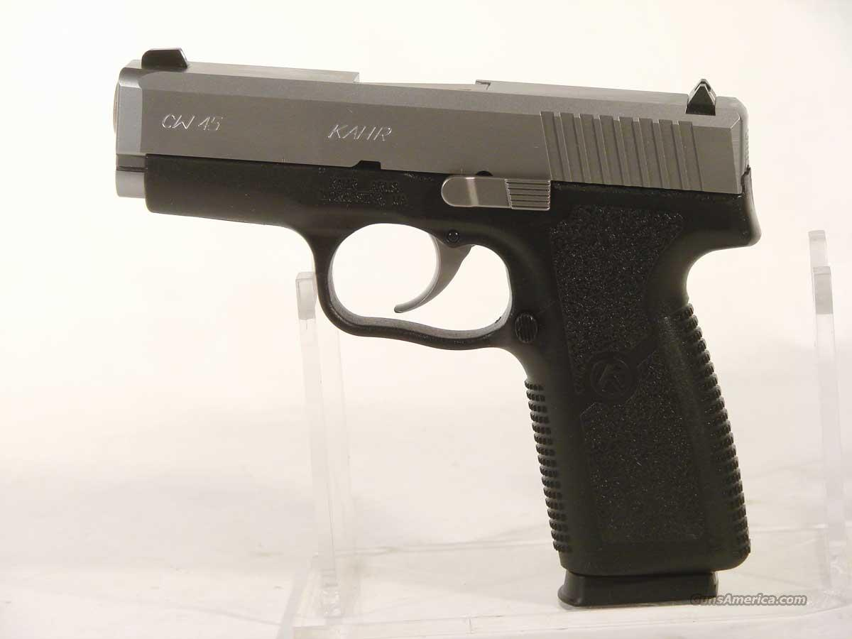 Kahr CW .45  Two Tone  New in the box   Guns > Pistols > Kahr Pistols