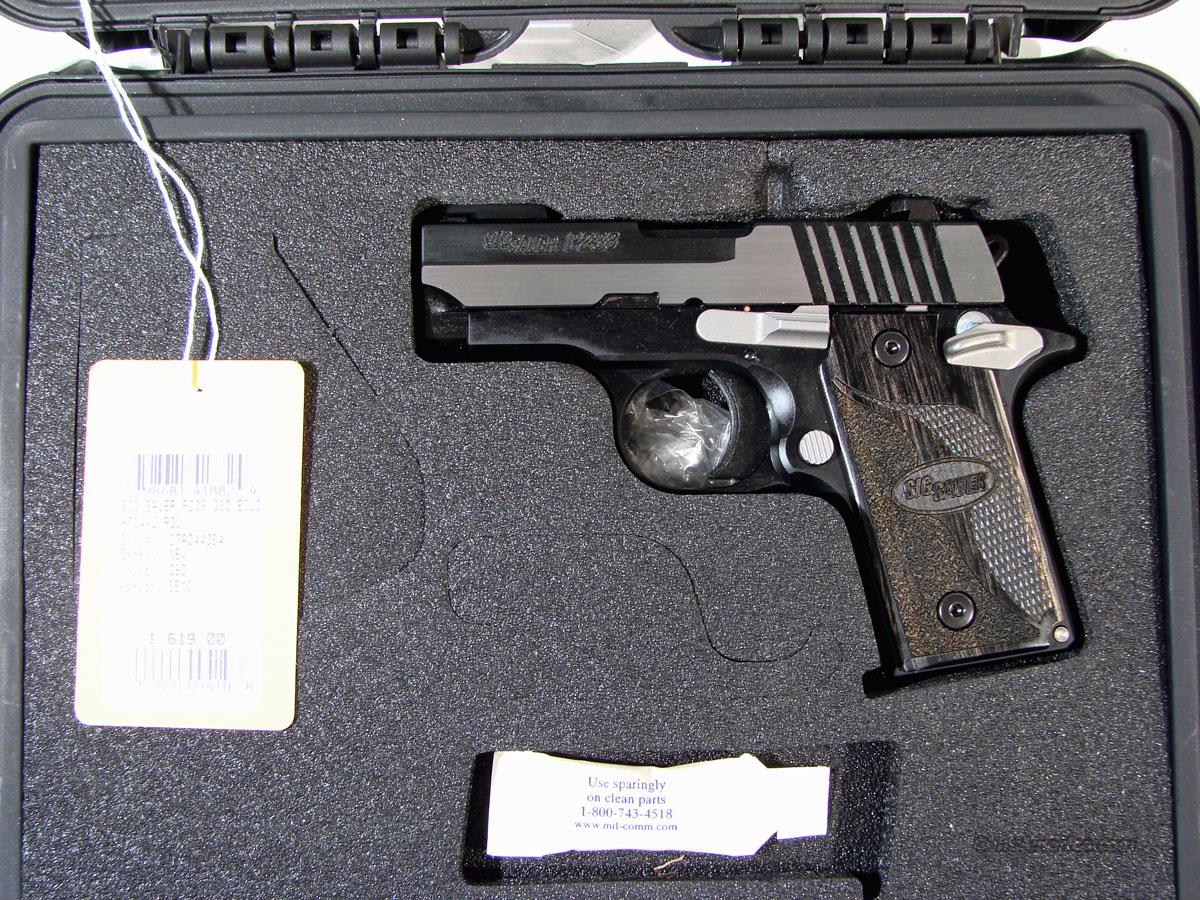 Sig P238 .380 Two Tone Black and Silver  Guns > Pistols > Sig - Sauer/Sigarms Pistols > Other